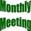 Monthly meeting