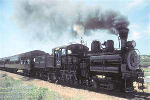 Jamestown locomotive