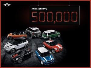 500,000th MINI