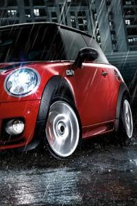 MINI Cooper rain 1