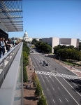 Pennsylvania Avenue-Newseum terrace
