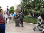 The Storyteller Statue on Buena Vista Street