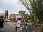Walking toward Carsland