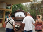 Mater meeting his fans
