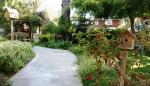 J Patrick House gardens