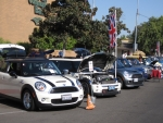 Coopster mingles with other MINIs