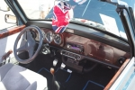 Classic Mini interior.