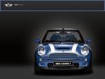 Blue Cabrio MINI