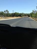More road.